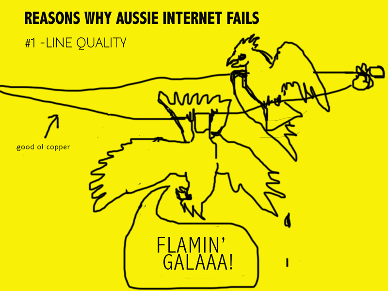 #1 line quality image of gala playing on telephone lines