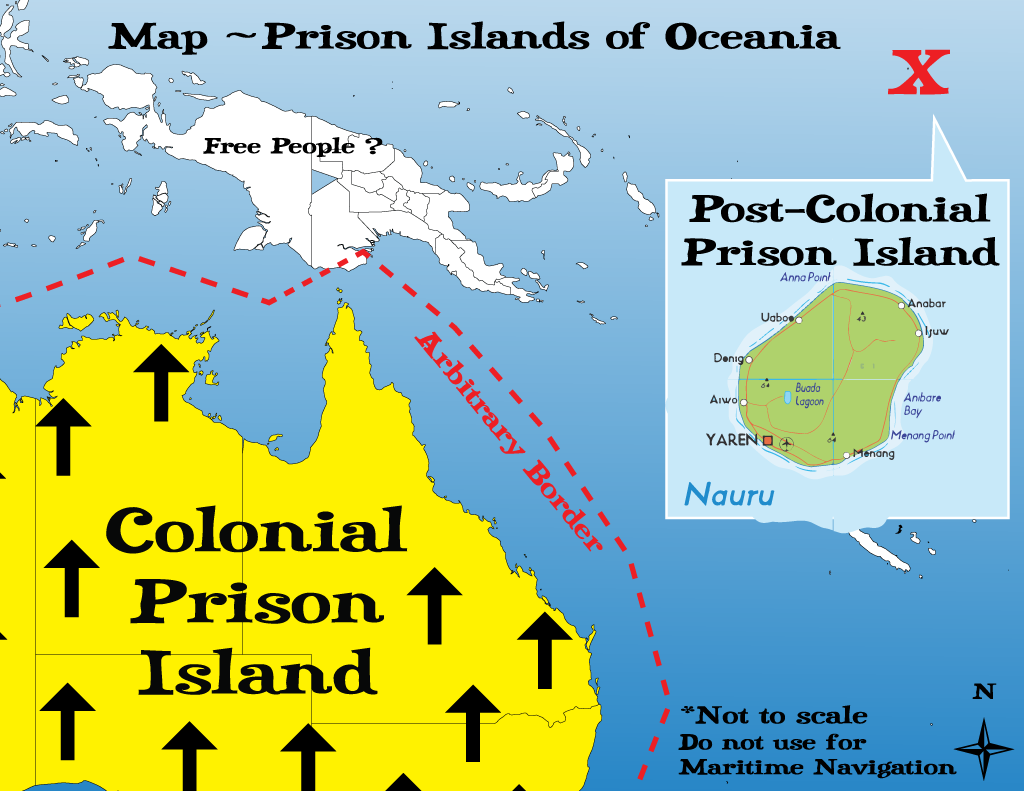 Prison Islands of Oceania